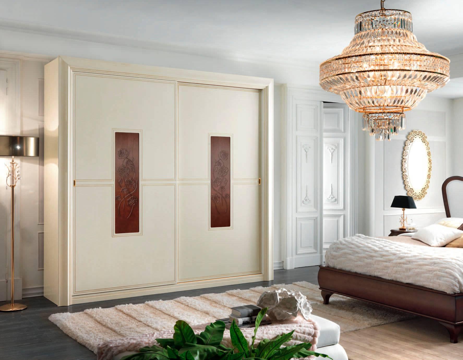 ابواب خشب لغرف النوم ابيض