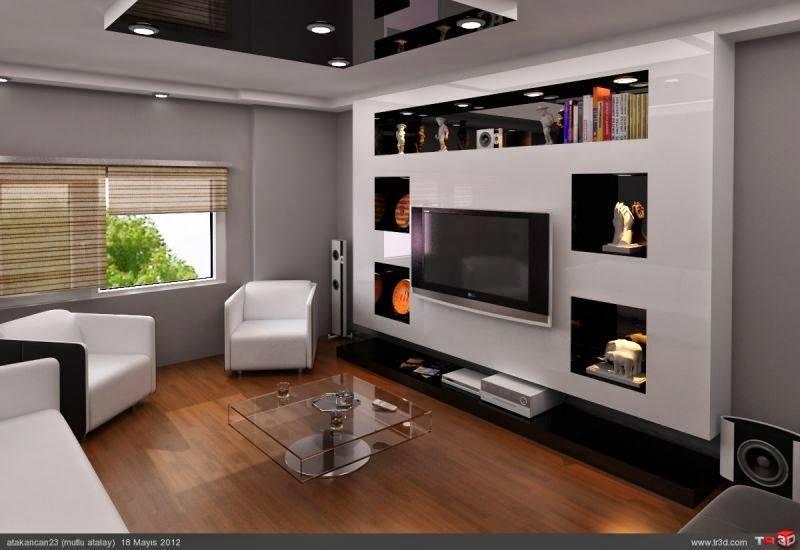 جبس بورد للتلفزيون Lcd للحائط و شاشات البلازما Television Gypsum