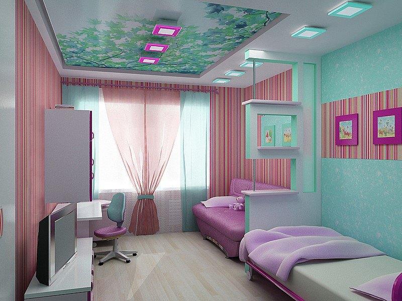 ديكورات جبس غرفة نوم الاطفال