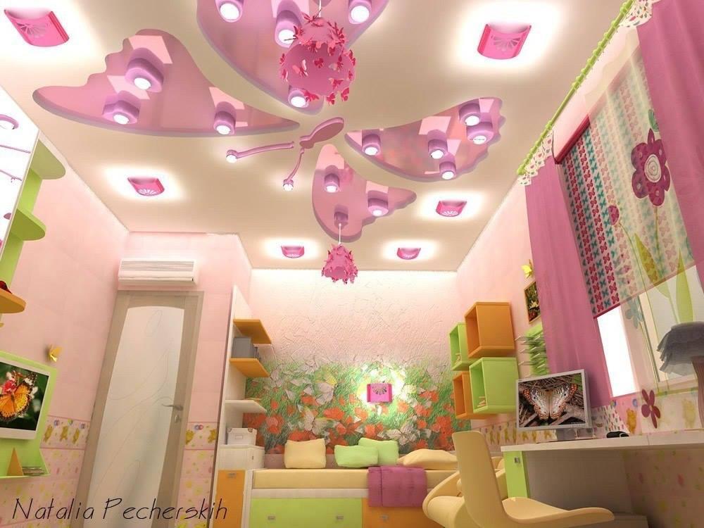 ديكورات جبس غرف نوم اطفال للأولاد والبنات عصرية وحديثة عرب ديكور