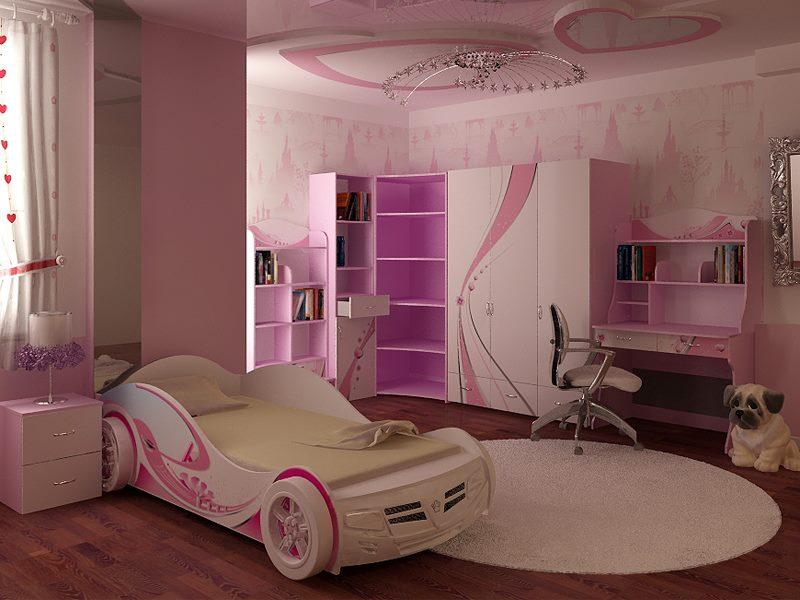 ديكورات الجبس لغرف نوم الاطفال