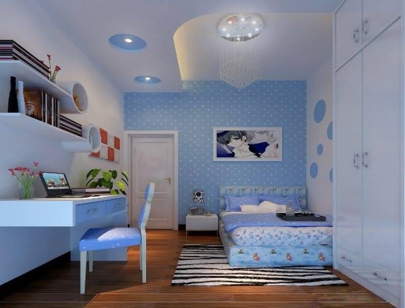 أحدث ديكورات الجبس لغرف نوم الاطفال الاولاد
