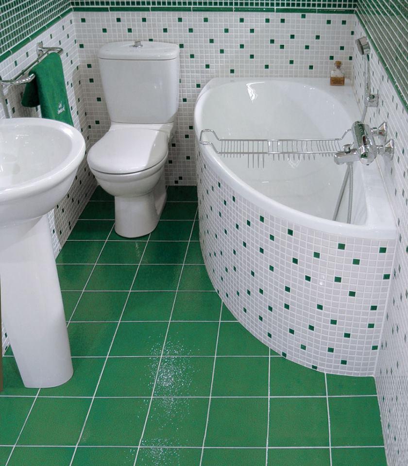 الوان ديكورات حمامات صغيرة المساحة