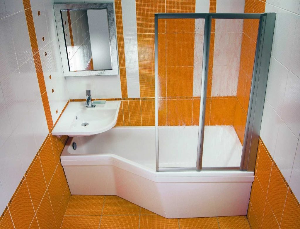 ديكورات حمامات صغيرة جدا وبسيطة