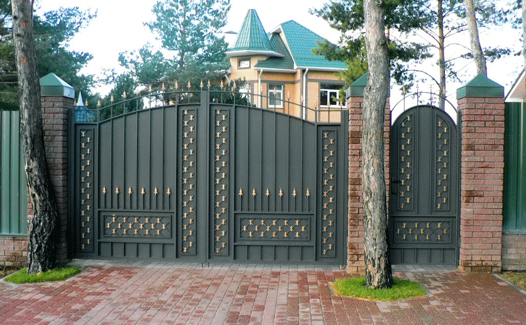 كتالوج لبوابات حديد للمنازل