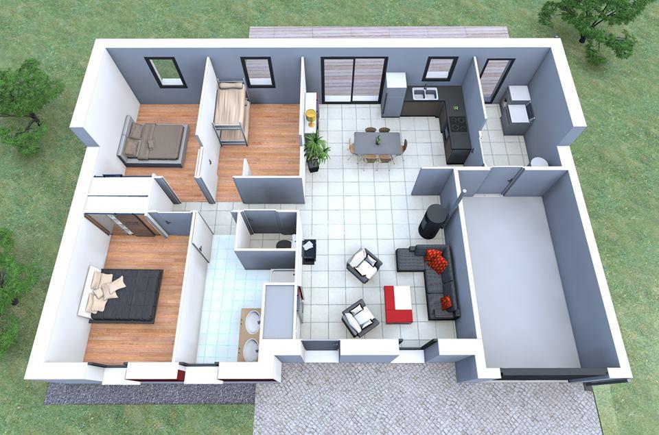 مخططات بيوت