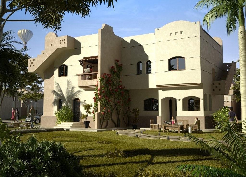 واجهات لمنازل مصرية عصرية