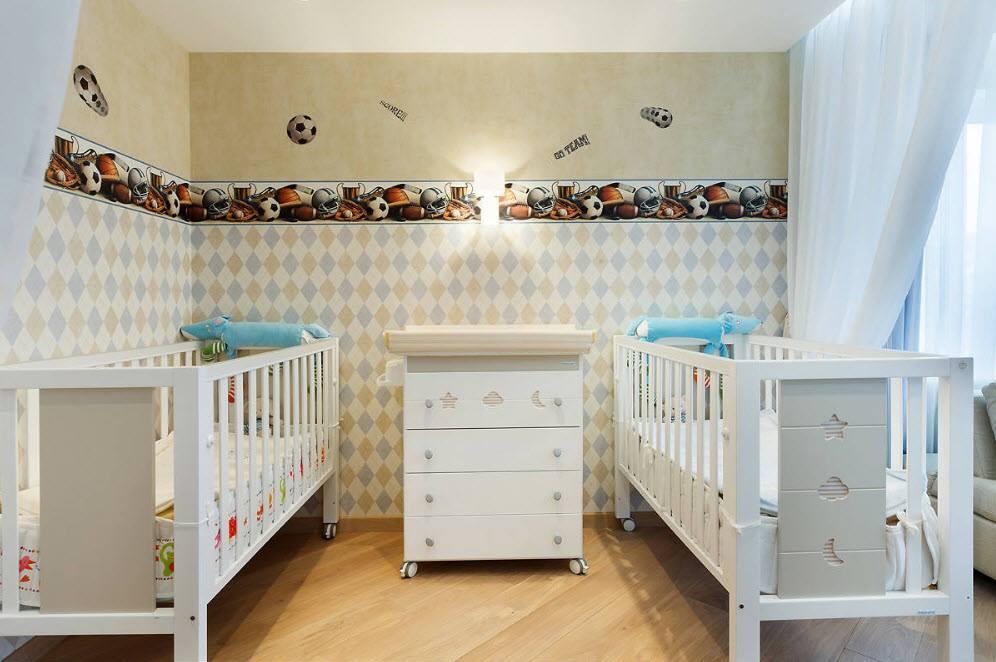 أفكار الوان لحوائط غرف اطفال