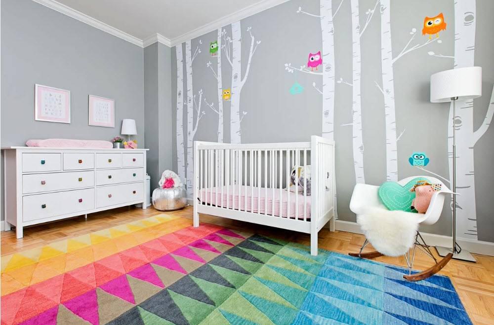 Baby Boy Nursery Ideas الوان حوائط غرف اطفال حديثة ورسومات مودرن 2018 - عرب ديكور