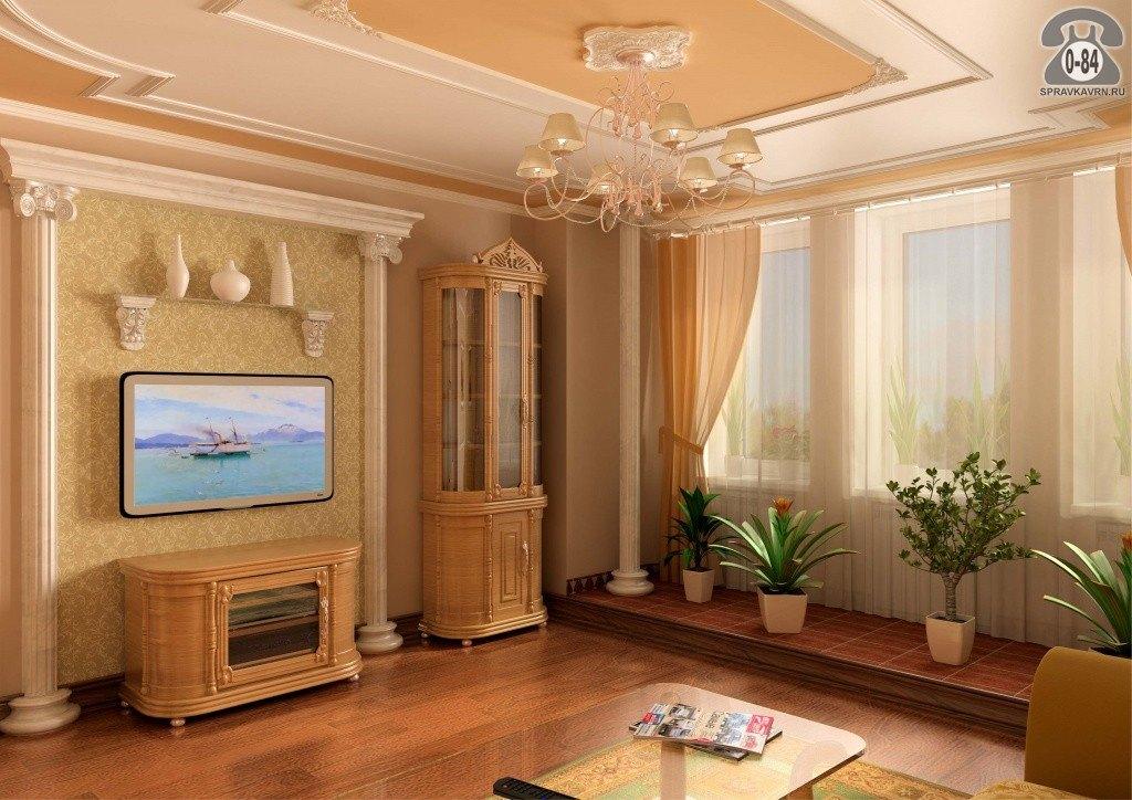 ديكور شاشات بلازما على الحائط