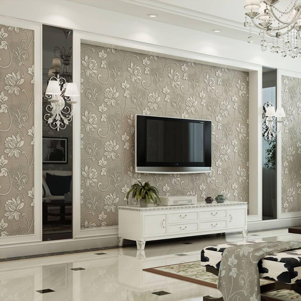 ديكورات شاشة بلازما على الحائط