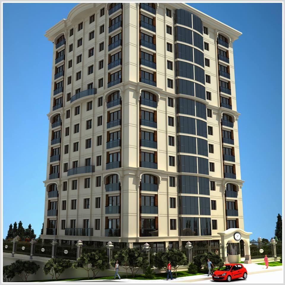 واجهات مودرن لعمارات سكنية
