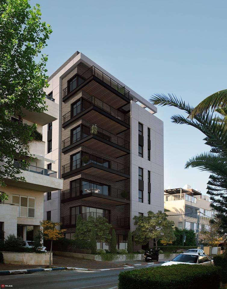 واجهات حديثة لعمارات سكنية