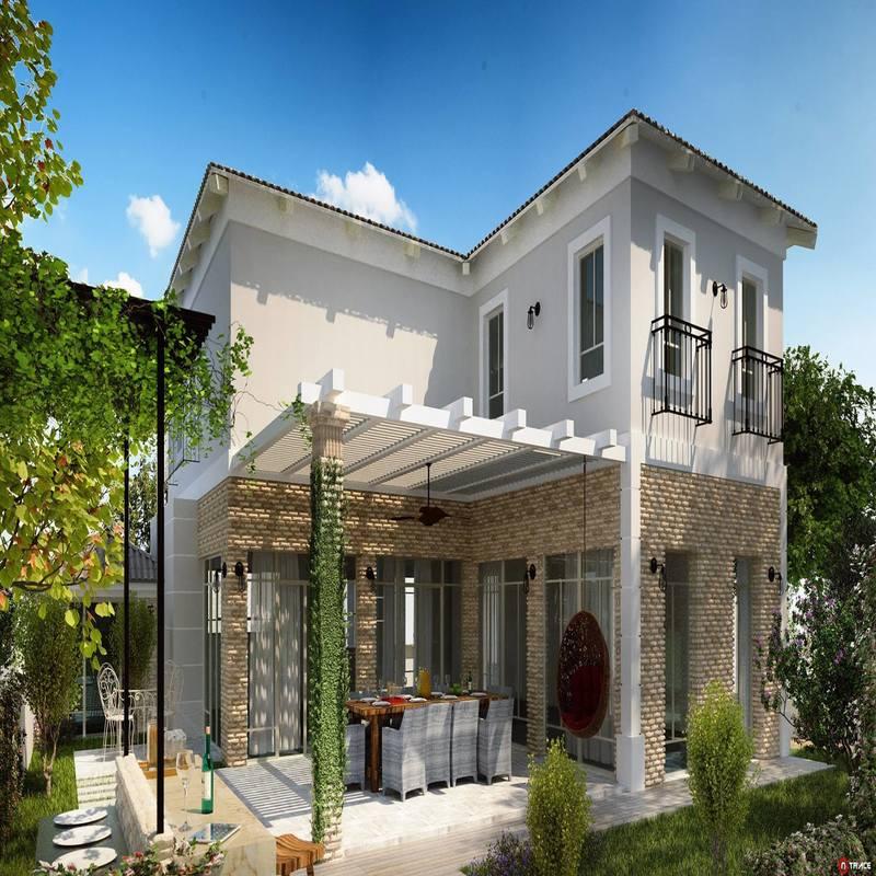 صور واجهات منازل مودرن تركية