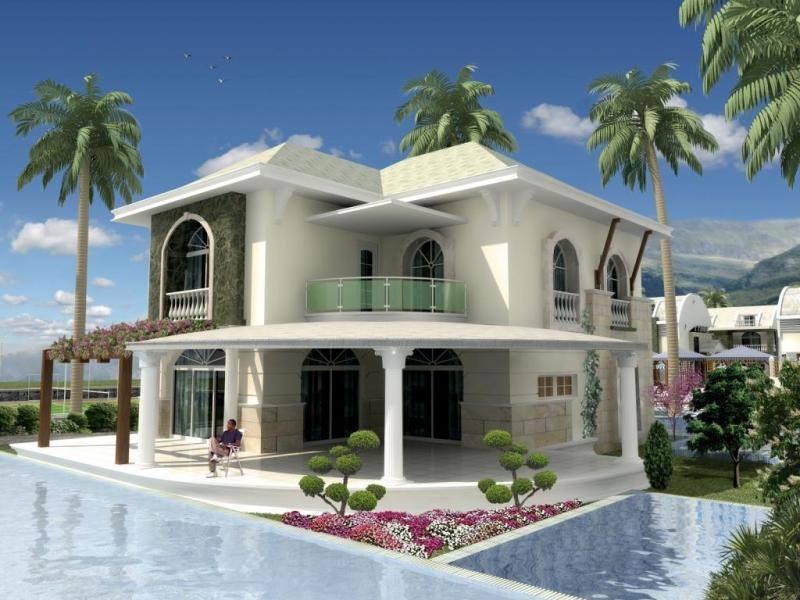 تصاميم لفلل كويتية من الداخل والخارج