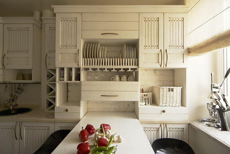 تصاميم مطبخ صغير وبسيط ابيض