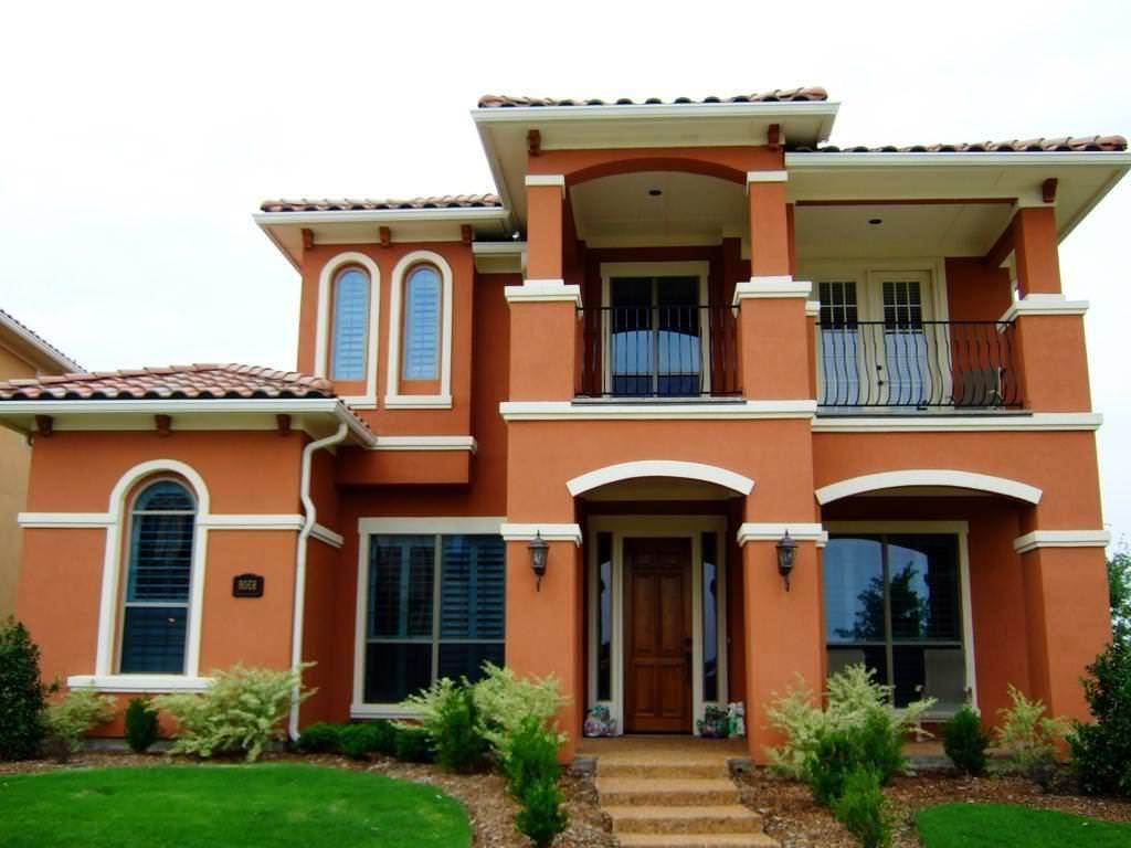 اجمل الوان البيوت الخارجية والوان طلاء المنازل الخارجية