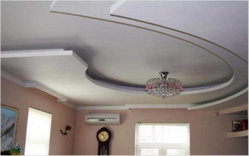 اشكال السقف المعلق للشقق