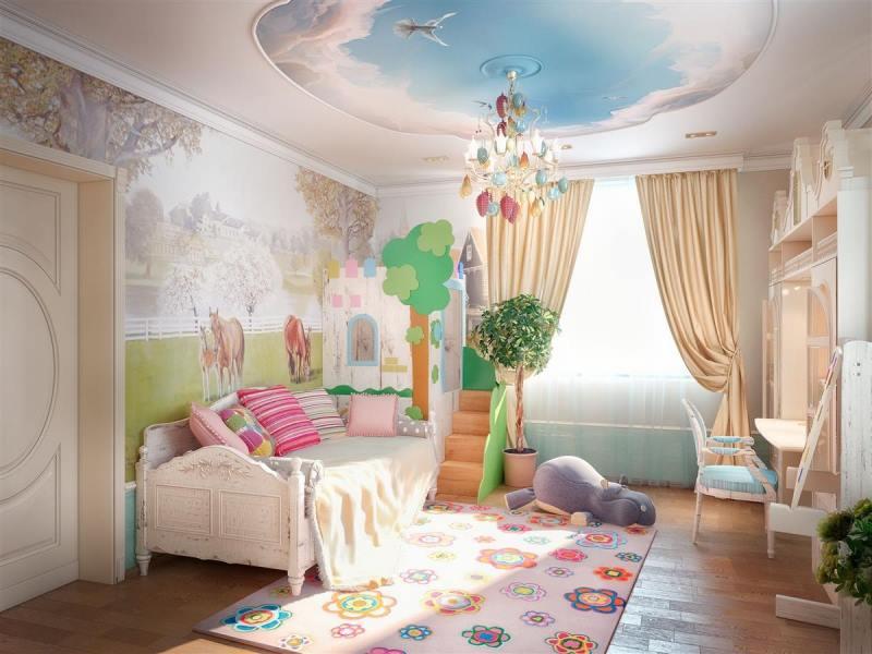 تصاميم غرف اطفال لفلل من الداخل