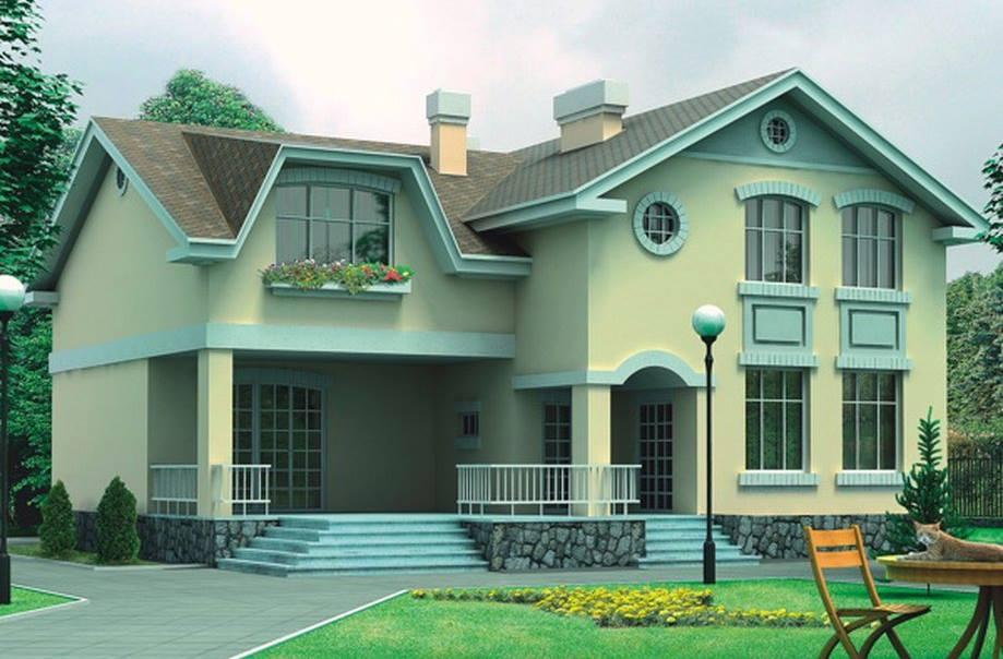 الدهانات الخارجية للمنازل الحديثة