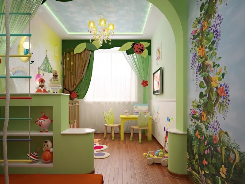 ديكورات جبس غرف نوم اطفال بنات