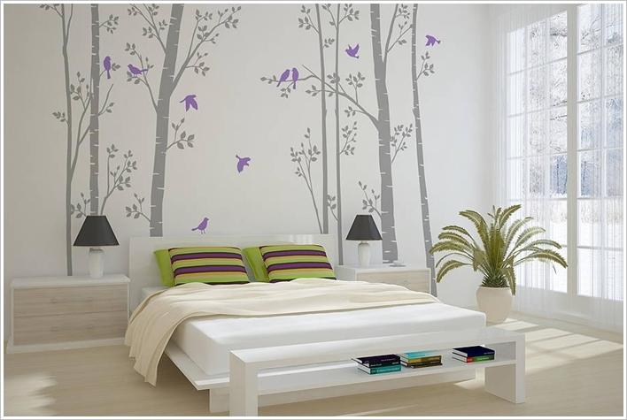 ورق جدران لغرف النوم