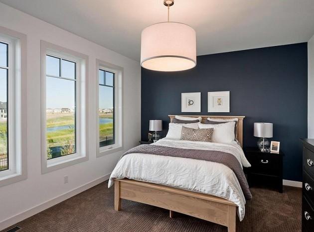 الاضاءة في غرف النوم باستخدام مصابيح معلقة لإضاءة أفضل