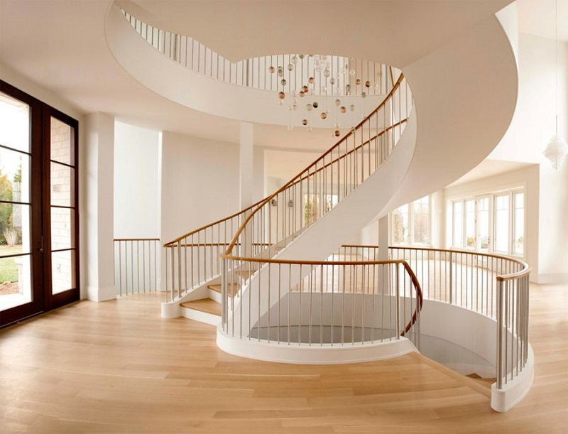 for Spiral staircase options