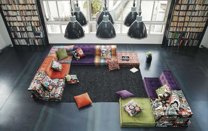 أرائك غرفة المعيشة   عرب ديكور