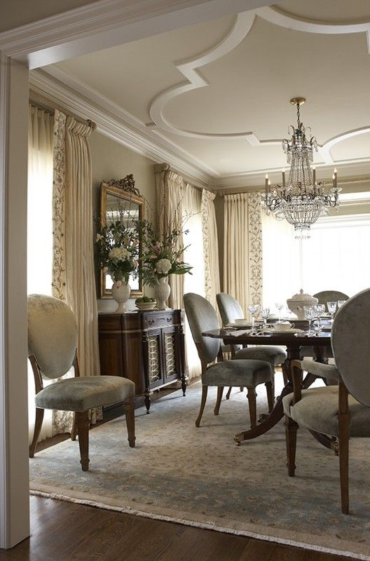 2016 for Updating a traditional dining room