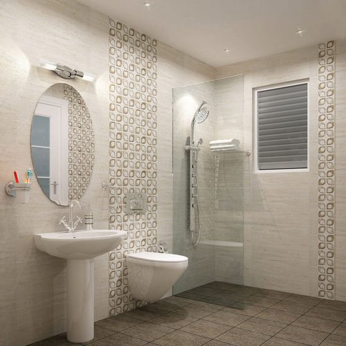 Kajaria bathroom tiles design in india