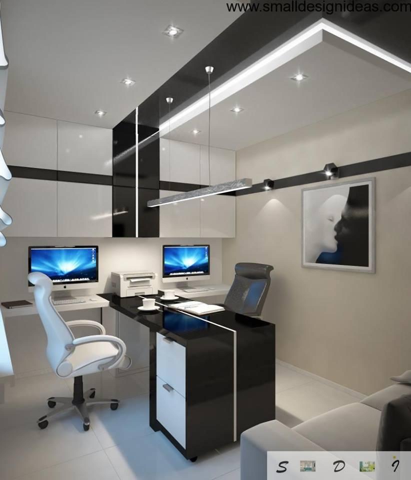 Interior Design Technology: ديكورات مكاتب منزلية , أفكار جميلة لتصميم المكتب المنزلي