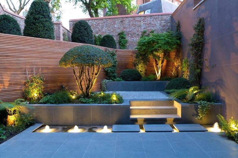 تصاميم حدائق منزلية داخلية صغيرة