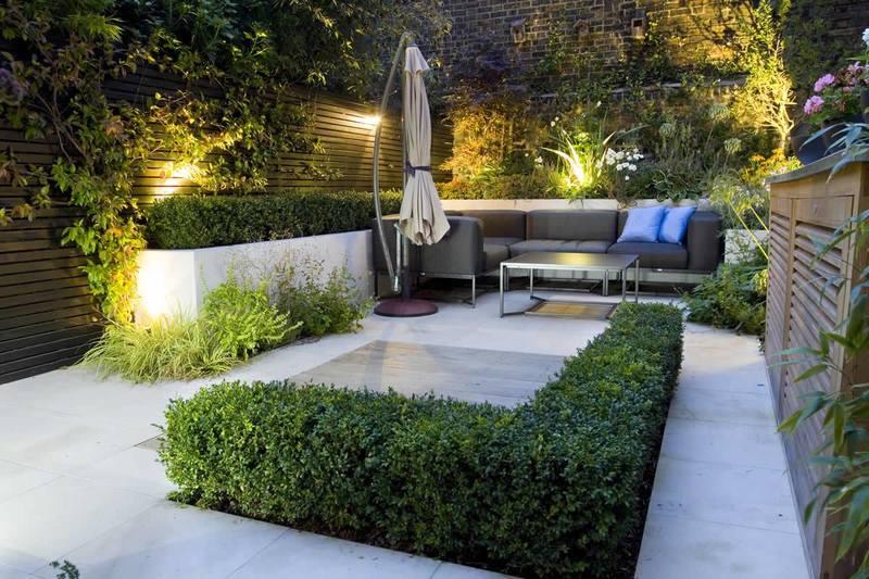 ديكورات مودرن لحدائق منزلية صغيرة وبسيطة