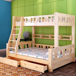 غرف نوم اطفال بسريرين فوق بعض للمساحات الضيقة للصغار والكبار