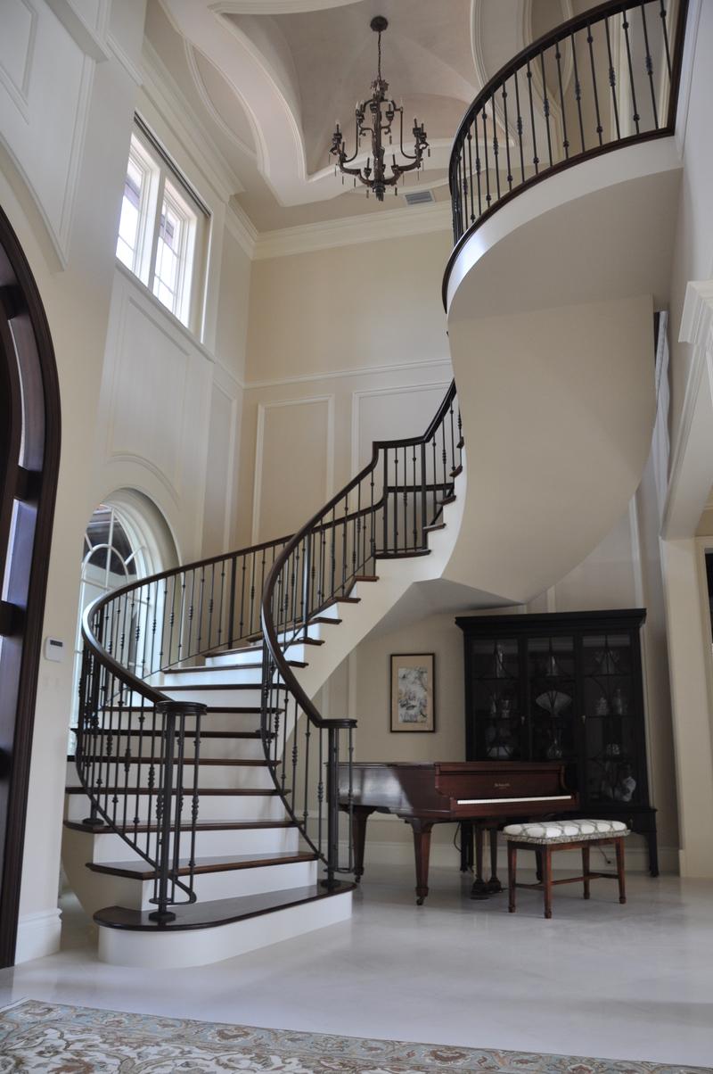 درابزين الدرج الداخلي