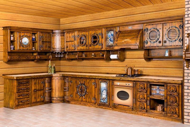 ديكورات مطابخ مفتوحة على الصالون