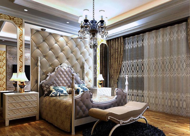 غرف نوم كلاسيكية خشب