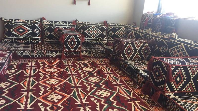 جلسات ارضيه عربيه