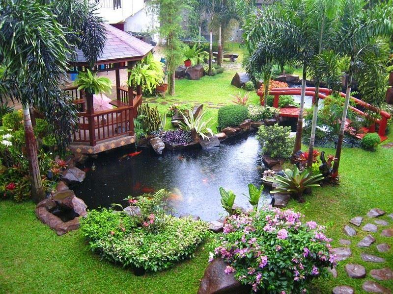 اجمل الحدائق المنزلية البسيطة