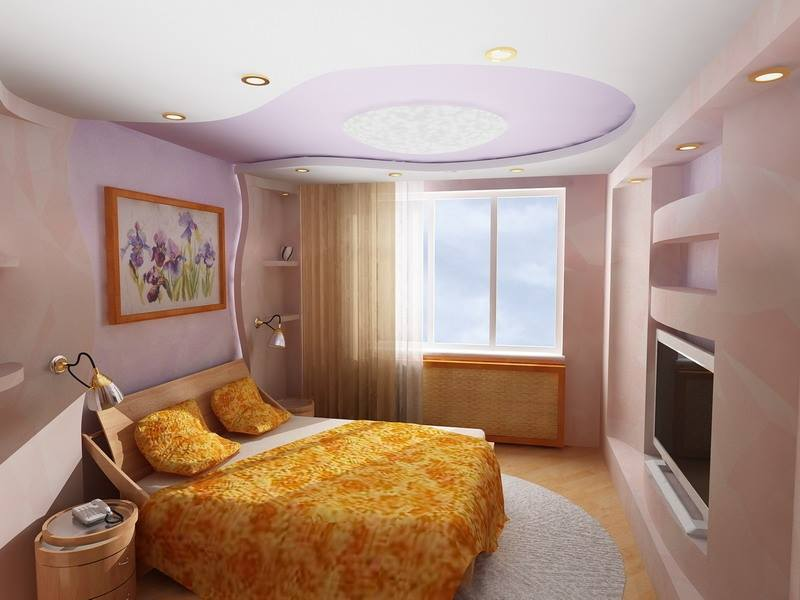 ديكورات جبس غرف نوم مودرن للحائط