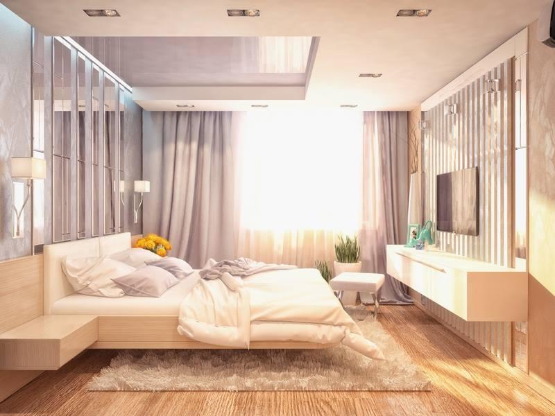 ديكورات بيوت من الداخل بسيطة لغرف النوم