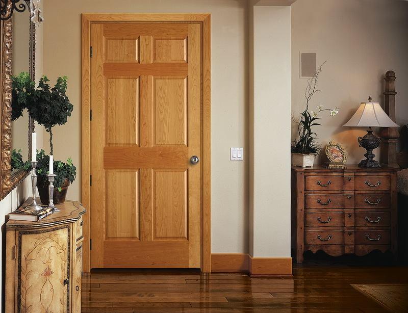 ابواب خشبية للغرف الداخلية