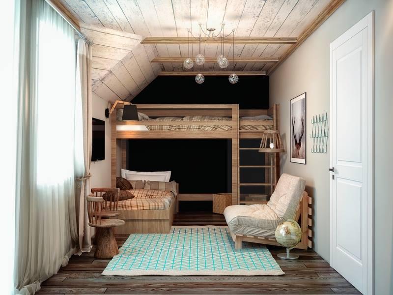 ديكور منازل بسيطة نوم الأطفال